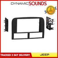 CT23JP08 Car Stereo Radio Double Din Fascia Panel Adaptor for Jeep