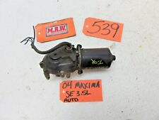 MAXIMA ALTIMA FRONT WIPER MOTOR WINDSHIELD CAR GLASS BLADE ARM DRIVE POWER USED