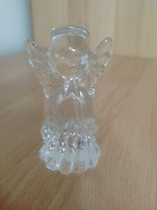 GORGEOUS NEW MARQUIS WATERFORD CRYSTAL CHRISTMAS ANGEL FIGURINE
