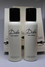 DOLCE & GABBANA Dolce Shower Gel 100ml 3.3oz & Body Lotion 100ml3.3oz New in Box