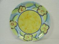 Spring Accent by Heritage Mint Salad Plate Artist's Touch Large Yellow Flowers
