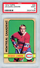 1972-73 TOPPS #25 JACQUES LEMAIRE PSA 9 25247426