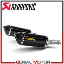 Coppia Terminali di Scarico Carbonio Akrapovic per Kawasaki Z 1000 2010 > 2013