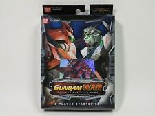 Gundam War 2 Player Starter SetCard Game Collectible BANDAI - Sealed - NEW