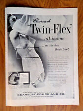 8d832b9a36850 1951 Sears Roebuck & Co Ad Charmode Twin-Flex Bra Girdle