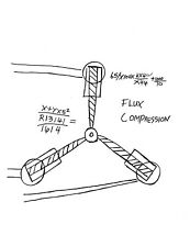 Back To The Future Dr. Emmett Brown Flux Capacitor Drawing > McFly Prop/Replica