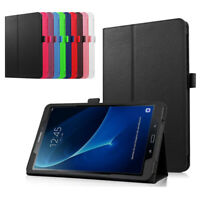 Leather Case Cover, Stylus & Screen Protector For Samsung Galaxy TAB A 10.1 T580