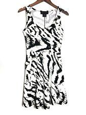 kardashian Kollection Print Dress Size Small Black White