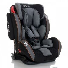 LCP Kids Auto Kindersitz GT Isofix 9-36 kg Jet Black Gruppe 1 2 3 Schlafposition