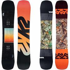 K2 Afterblack Homme Snowboard Twin Tous Mountain Freestyle 2020-2021 Neuf