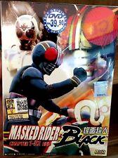 Masked Kamen Rider Black (1 - 52End) ~ 2DVD BOX ~ Godzilla Sentai ~ English Sub