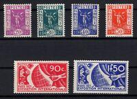 PP134196/ FRANCE – EXPO PARIS 1937 / Y&T # 322/327 MNH FULL SET CV 137 $
