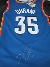 Kevin Durant Signed Adidas Thunder Jersey Size 50 - Global Authentics