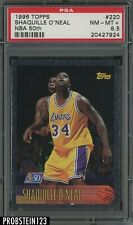 1996-97 Topps NBA 50th #220 Shaquille O'Neal Lakers HOF PSA 8.5 NM-MT+