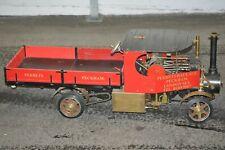 Dampfbetriebener LKW 2 Zylinder Maschine Kohlebefeuert  sehr schwer