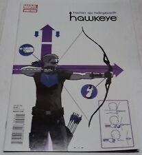 HAWKEYE #2 (Marvel Comics 2012) RARE 1ST PRINT (VF-) Matt Fraction & David Aja