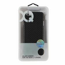 Xqisit iPlate Carbone Etui pour iPhone 6 - Noir