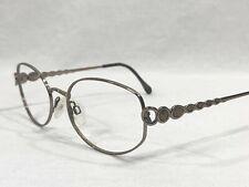 Luxottica LU 2242 T342 Oval Rx Eyeglasses Silver Frame 53▯18-135