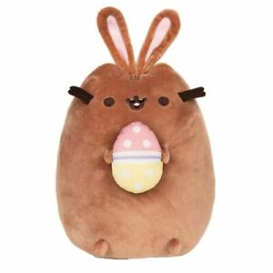 Pusheen The Cat Plush - Easter Chocolate Bunny With Egg 24cm