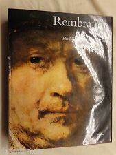 Rembrandt His Life, Work and Times by Bob Haak (1969, Hardcover) Paintings
