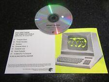 "KRAFTWERK ""COMPUTER WORLD"" RARE 2009 UK PROMO CD (MUTE RELEASE)"