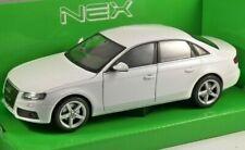 Audi A4 2009 - White, Classic Model Car 1/24