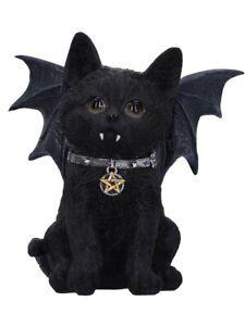 Nemesis Ornament Vampuss 16cm Bat Cat Figurine Black