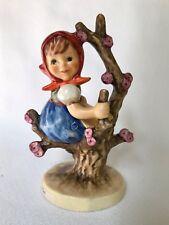 Goebel Hummel Apple Tree Girl Figurine, Artist Signed?, 141 3/0, label