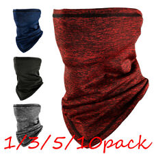 Multi-Use Neck Gaiter Uv Protection Face Mask Scarf Breathable Bandana Balaclava