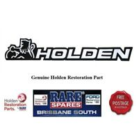 HOLDEN COMMODORE BOOT BADGE VK ALL MODELS & VL CALAIS