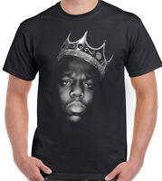 The Notorious BIG Biggie Smalls Mens T-Shirt Big Hip-Hop B.I.G. 2Pac Tupac 2 Pac