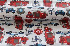 Genial de toalla de bomberos y coches de policía a partir de 50cm nuevo! 1,60m ancha