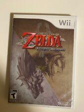 The Legend of Zelda Twilight Princess (Nintendo Wii, 2006) USED CIB