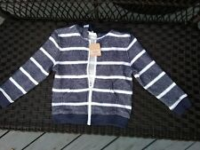 new boys crazy 8 sweater zip hooded 4T cotton blend