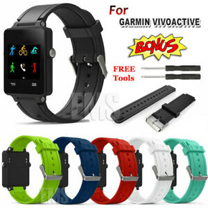 Replacement Wrist Band Silicone Watch Band Strap for Garmin Vivoactive Bracelet