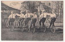 Ak I Saalmannschaft des Arb.-Rad-Vereins Mügeln b Oschatz Fahrrad Fahrer (A2382