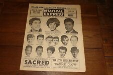 NME 18 AUG 1961 SAMMY DAVIS BOBBY VEE CONNIE STEVENS PAUL ANKA CLIFF RICHARD