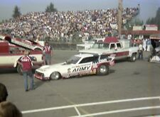 NHRA 1970's Funny Car Drag Racing Photograph Don Prudhomme ARMY Funny Car 8 x 10