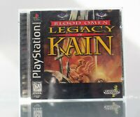 Blood Omen Legacy of Kain Playstation 1 PS1 Black Label Complete