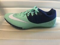 Nike Men's Women's Zoom Rival S 8 Track Spikes Mint Racing Running MSRP $65 NEW