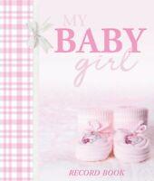 My Baby Girl Record Keepsake Journal Photo Birth To Seven Years Gingham Booties