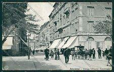 Ancona Città Alterocca 4655 cartolina QQ1040