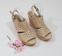 Sam Edelman Boutique Platform Wedge Sandals US 9M