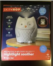 Skip Hop Moonlight & Melodies Crib Soother and Baby Night Light, Owl New