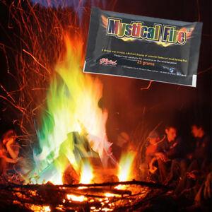 Mystical Fire Flammen Farbe Lagerfeuer Kamin Feuer Pulver Farbwechsel Lightshow
