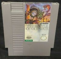 THE BATTLE OF OLYMPUS - Nintendo NES Game Rare Tested Authentic Original