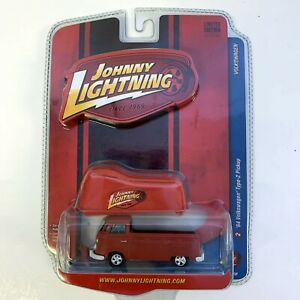 Johnny Lightning 1964 Volkswagen Type 2 Pick Up Truck Red Die Cast Car Cover NEW