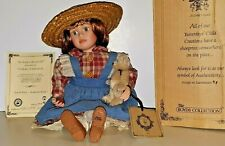 2000 Boyds Bear Yesterdays Child Joni With Patch Strawberry Field Doll 4812