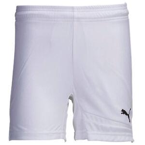 PUMA Youth Pulse Shorts White/Black 742426 05Y