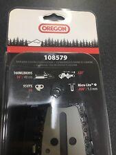 "Oregon 108579 16"" Micro-Lite Oregon Bar & Chain Combo.325"" Pitch, 050 Gauge"
